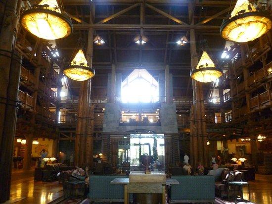Disney's Wilderness Lodge : Inside Wildeness Lodge