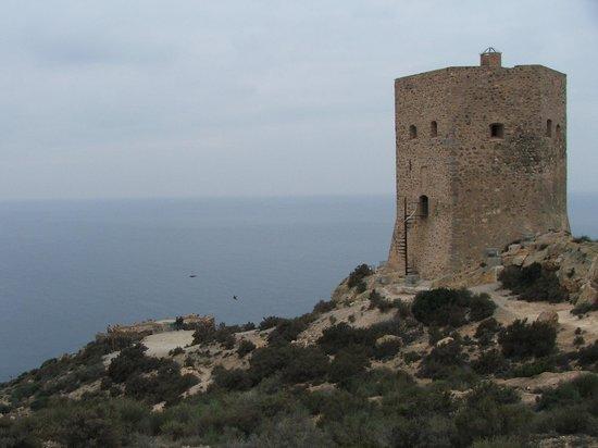 La Azohía, España: St Elena Tower at La Azohia