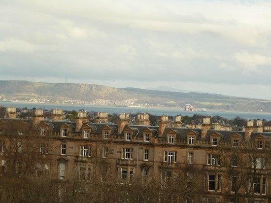 B+B Edinburgh: View from our room