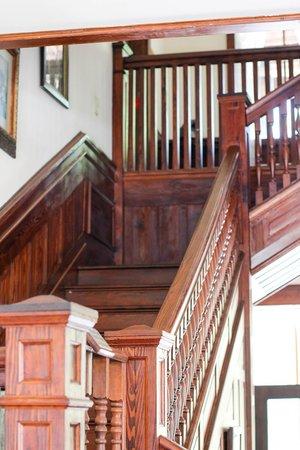 Koreshan State Historic Site: Beautiful staircase.