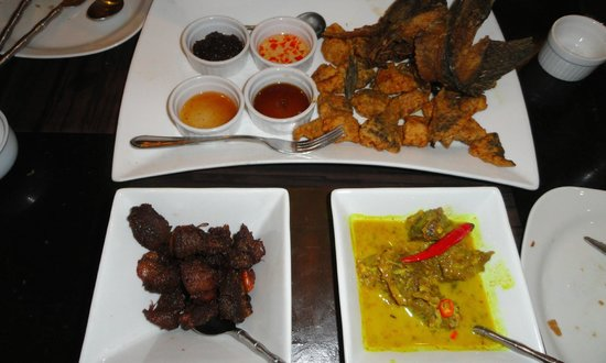 Mesa Filipino Moderne: Fish and meat