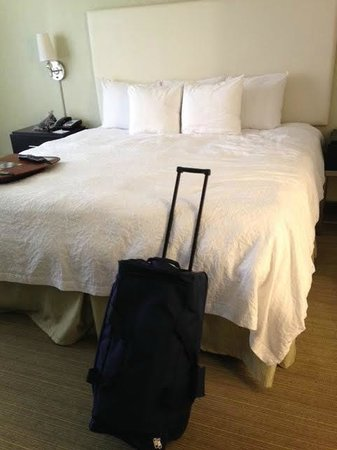 Hampton Inn & Suites Chicago - Downtown : Separate bedroom area