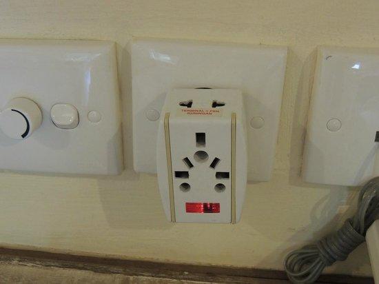 Tegal Sari: Plug Adapter