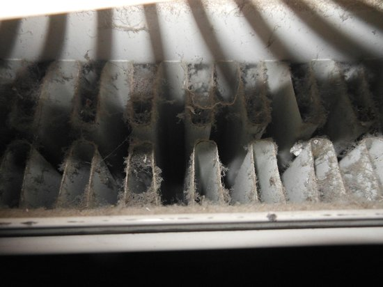 The Rembrandt: Really dusty radiator