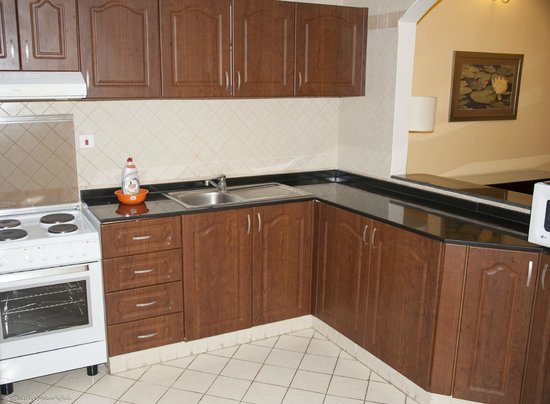 Time Crystal Hotel Apartments Kitchen