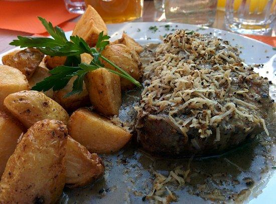 Bandima: Beef steak with truffles