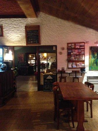 Schilling Hostal Patagonico: 内観