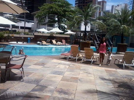 Mareiro Hotel : adoramos a piscina