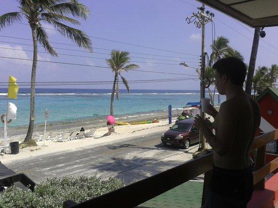 Decameron San Luis: vista desde el balcón de entrada de la habitación