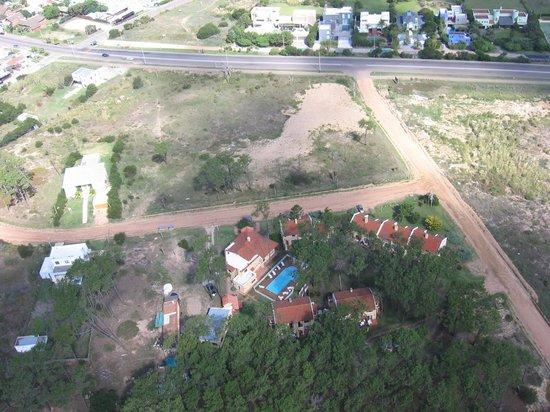 Pino Dorado: Desde el aire