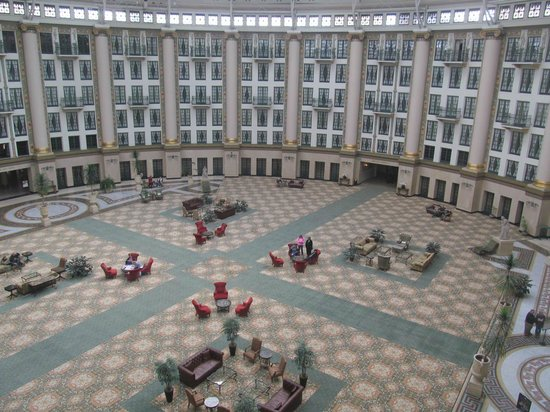 West Baden Springs Hotel: View from the room