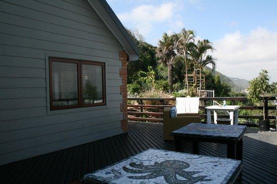 Wilderness Beach house : Terrasse