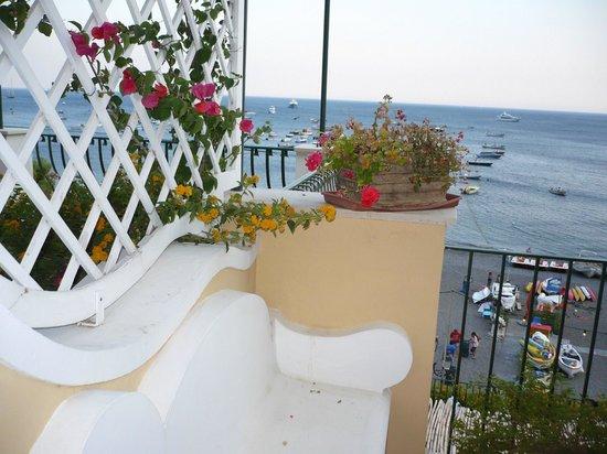 Hotel Buca di Bacco: il terrazzino della nostra camera