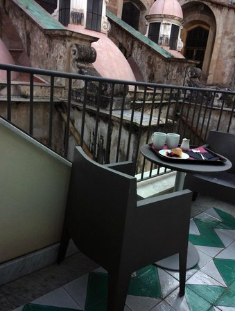 Quintocanto Hotel & Spa: Coffee in the morning
