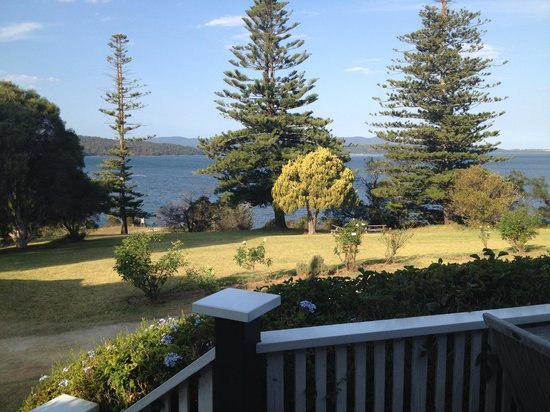 Karbeethong Lodge: the view from the house
