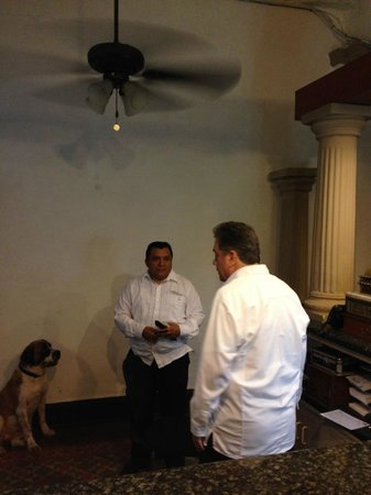 Gran Hotel de Merida: The Front Desk Staff that would not give me my Money Back