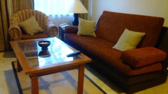 Royal Candidasa: Royal Bali Beach Club: Living room
