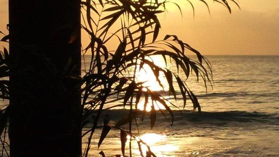 Seastar Inn: sunset