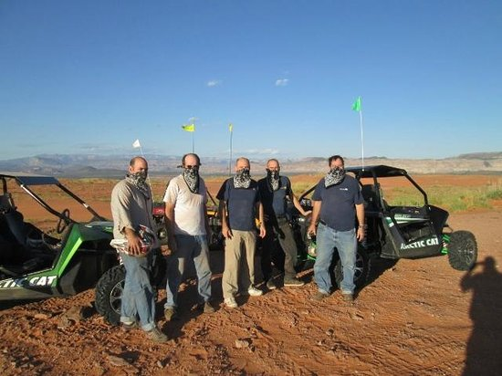 Southern Utah Adventure Center : Next stop. . .Wells Fargo