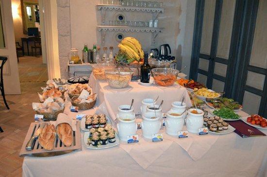 Algila Ortigia Charme Hotel : Breakfast