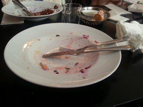 Njutbar: Salladen är slut...