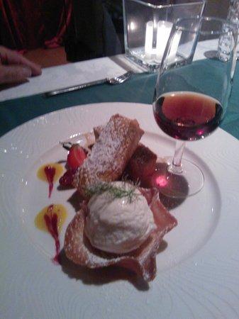 Restaurante Mozart: Creme Brullee