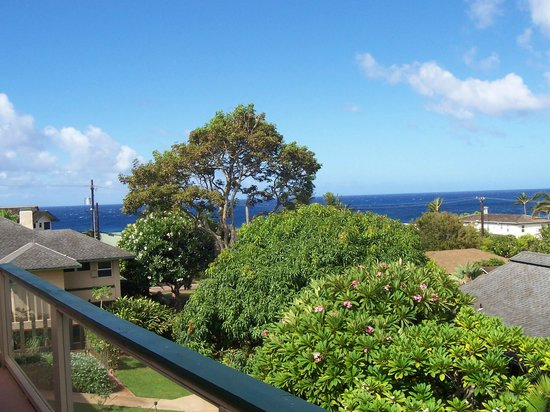 Poipu Plantation Resort : Look the other way, you see the ocean