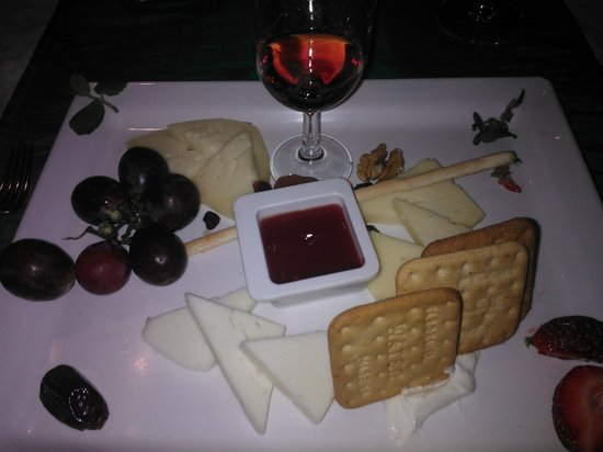 Restaurante Mozart: Cheese and Biscuits