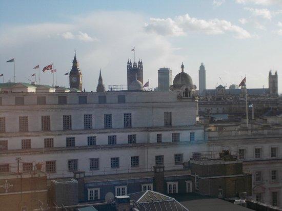 Club Quarters Hotel, Trafalgar Square : View