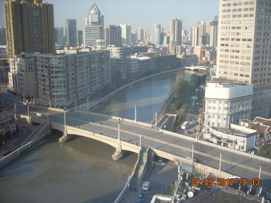 The Bund Riverside Hotel: River view from room 1304