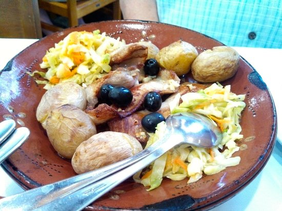 Restaurante Madureira Prado: Pork dish