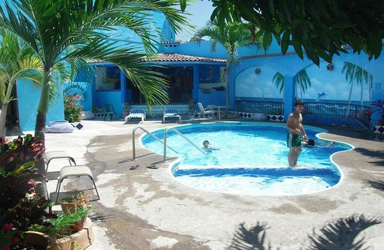 Marco's Place: Pool Area