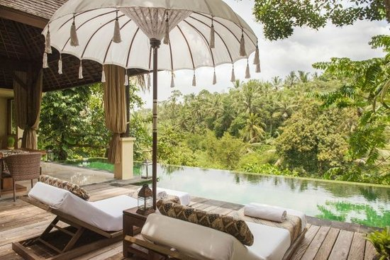 Komaneka at Bisma : our beautiful pool villa