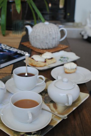 Chestnut Lane Cottage: Tea and Scones upon arrival!