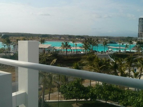 Hotel Playa Blanca Beach Resort: Desde el Town Center
