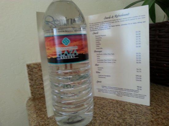 Scottsdale Plaza Resort: $6 bottled water !