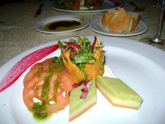 Hyatt Zilara Cancun: lovely presentation of food