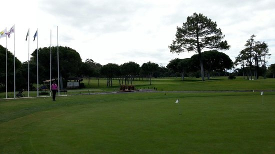 The Old Course - Golf Club: View from the clubhouse.