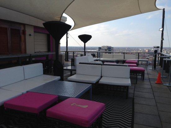 Madison Hotel: Rooftop bar