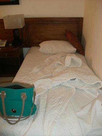 Hong Han Hotel: the bed...