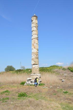 The Temple of Artemis (Artemision): temple of artemis