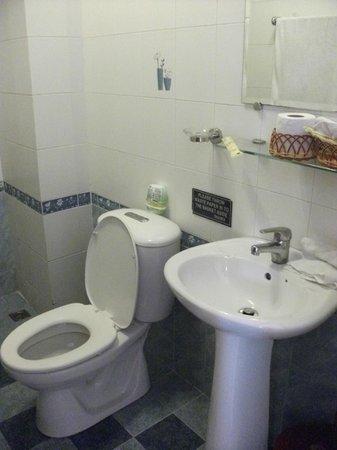 Hong Han Hotel: toilet is clean
