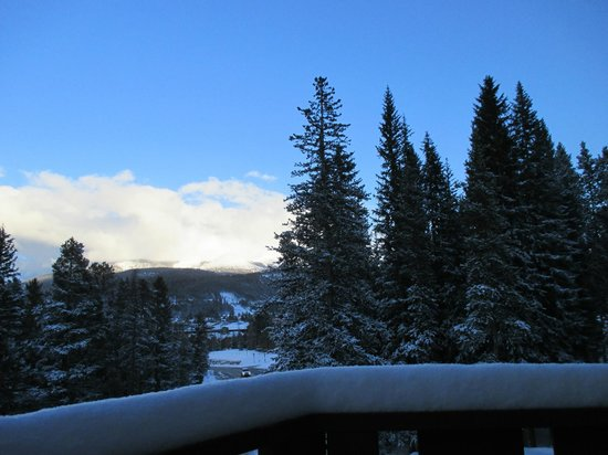 Skiway Lodge: View from our balcony