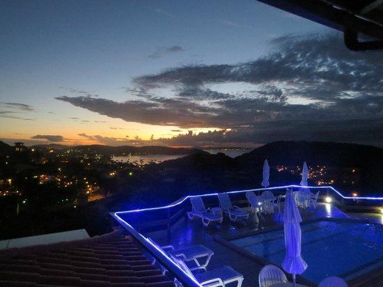 Pousada Santorini : vista do hotel