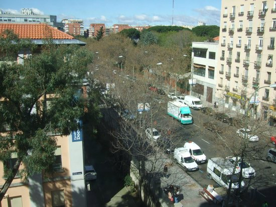 TRYP Madrid Chamberi Hotel : Vistas