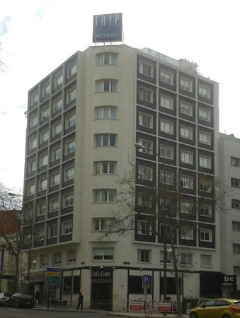 TRYP Madrid Chamberí Hotel: Exterior