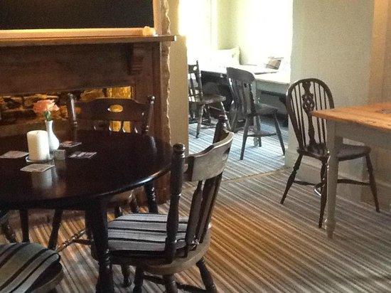 The Old Bear Inn: Restaurant area