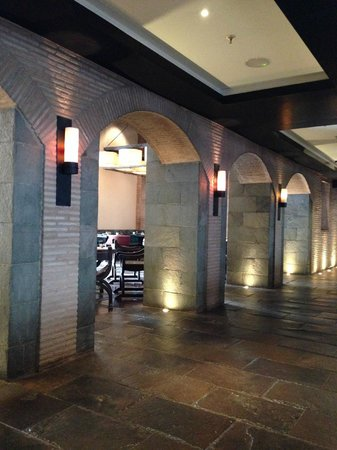 JW Marriott El Convento Cusco: View from Restaurant-Bar Seating/Lounge Area