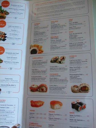 TRYP Madrid Chamberí Hotel: Servicio de comidas