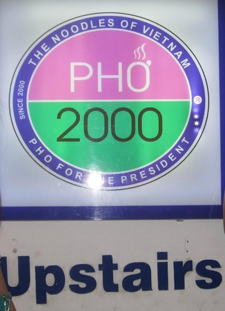 Pho 2000 : sign